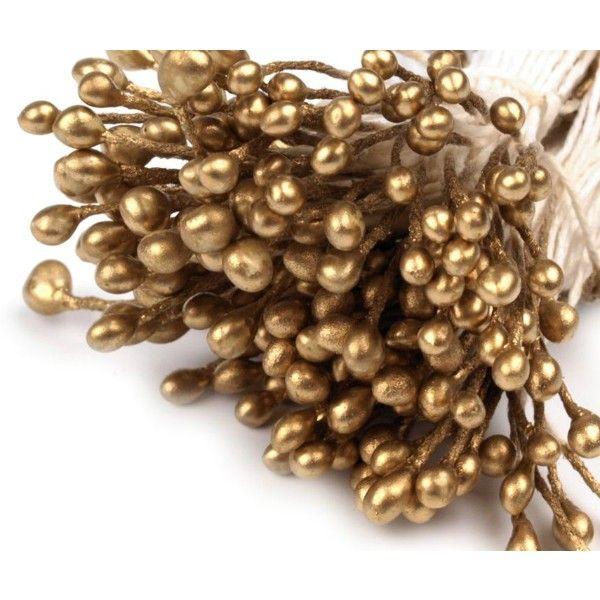Pestíky do květin - zlaté nezařazeno
