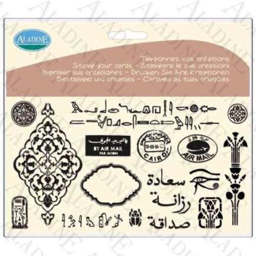 Novinka 2012! Sada gelových razítek od francozské firmy Aladine EGYPT