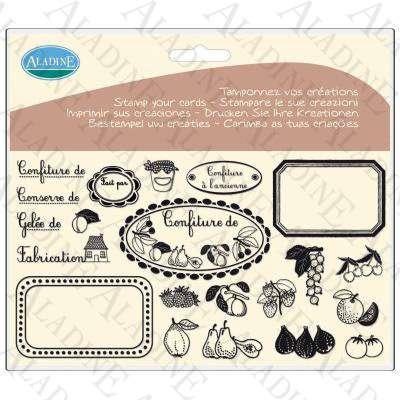 Novinka 2012! Sada gelových razítek od francozské firmy Aladine MARMELÁDA