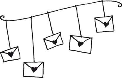 Aladine Dřevěné razítko Svatební pošta
