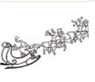 Aladine Dřevěné razítko VÁNOČNÍ OZDOBA