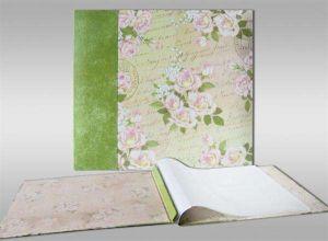 Album na scrapbook Růže 30x30 cm