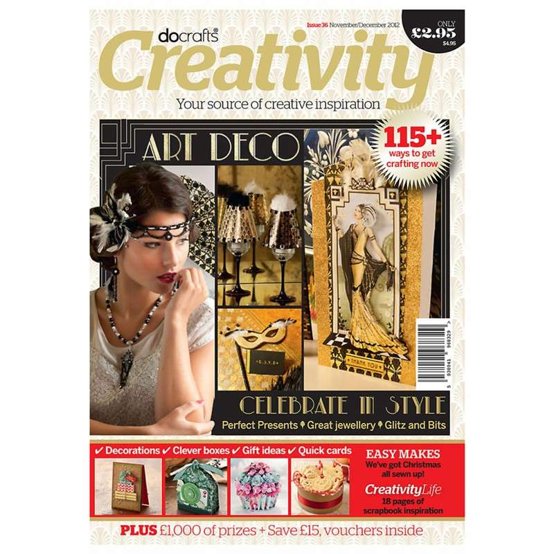 Časopis o scrapbookingu pro scrapařky! Časopis Docrafts Creativity! časopis č.36 Nov/Dec 2012 Design Objectives