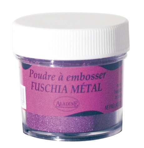 Embosovací prášek, 30 ml, vínový metalický Aladine
