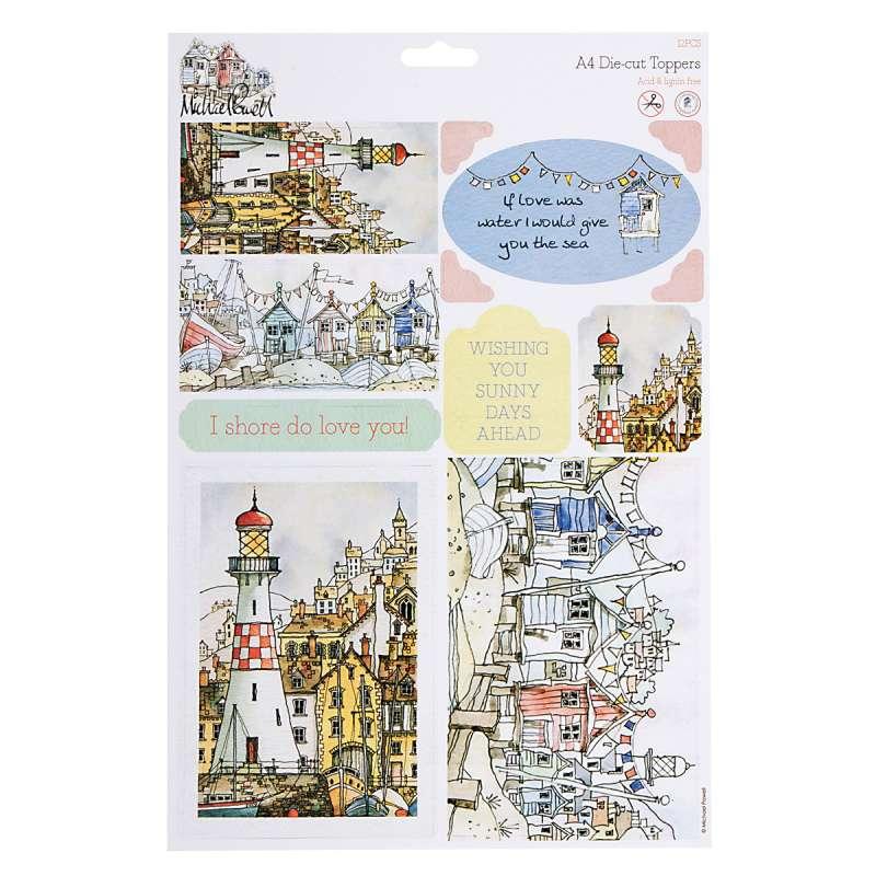 Papírové výřezyVýřezy A4 Michael Powell k dozdobení vašich alb, přání a scrapbooků Design Objectives
