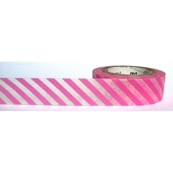 šikmý proužek růžový washi páska, na scrapbooking, jako dekorace