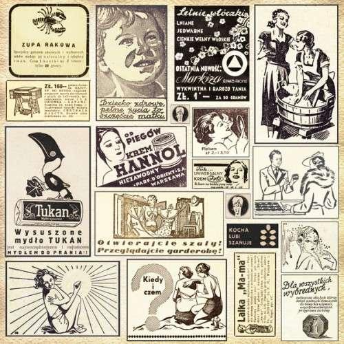 Domestic Goddess - Collage - Adverts - Scrapbooková čtvrtka od 7 Dots Studio vhodná pro scrapbooking a cardmaking