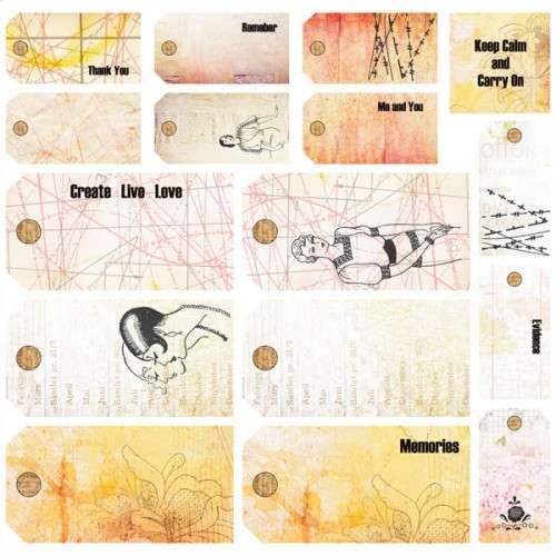 Domestic Goddess - Tags - Štítky a visačky od 7 Dots Studio vhodná pro scrapbooking a cardmaking