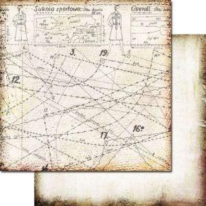 Domestic Goddess - White Apron - Scrapbooková čtvrtka od 7 Dots Studio vhodná pro scrapbooking a cardmaking