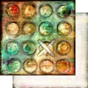 Dreamer - Sleepless - Scrapbooková čtvrtka od 7 Dots Studio vhodná pro scrapbooking a cardmaking