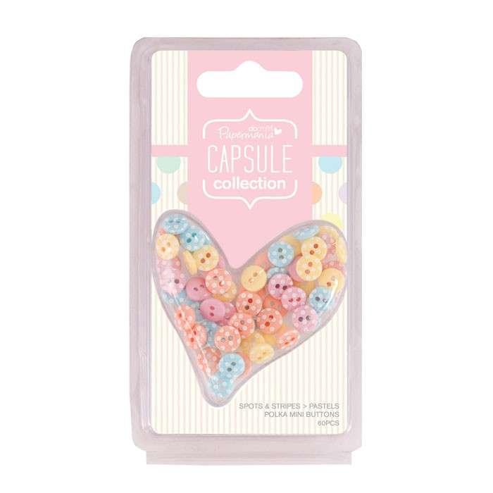 Knoflíky puntíkaté Capsule Pastels Design Objectives Capsule