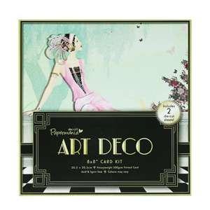 Sada ART Deco - Card Kit na scrapbookové projekty, přáníčka aj. Papermania