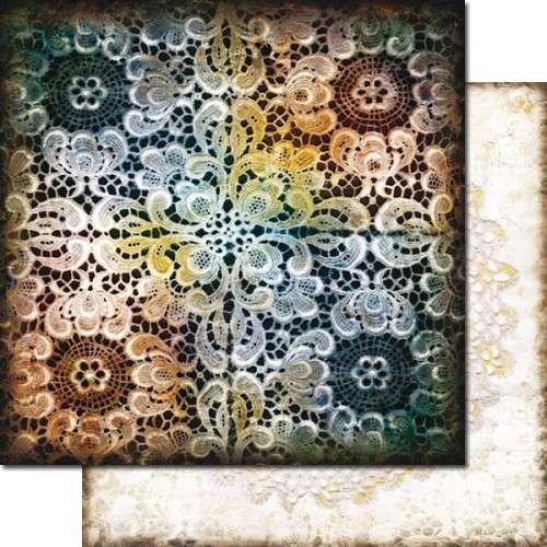 Wonderland - Queen Of Hearts - Scrapbooková čtvrtka od 7 Dots Studio vhodná pro scrapbooking a cardmaking