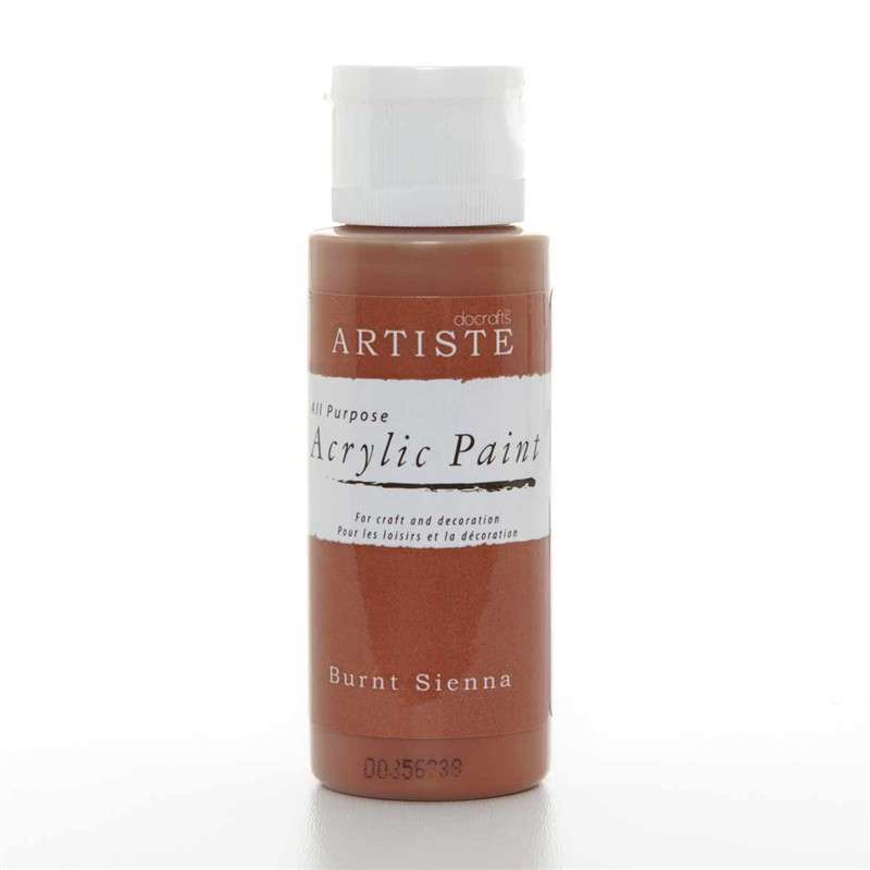 Akrylová barva ARTISTE - pálená hnědá