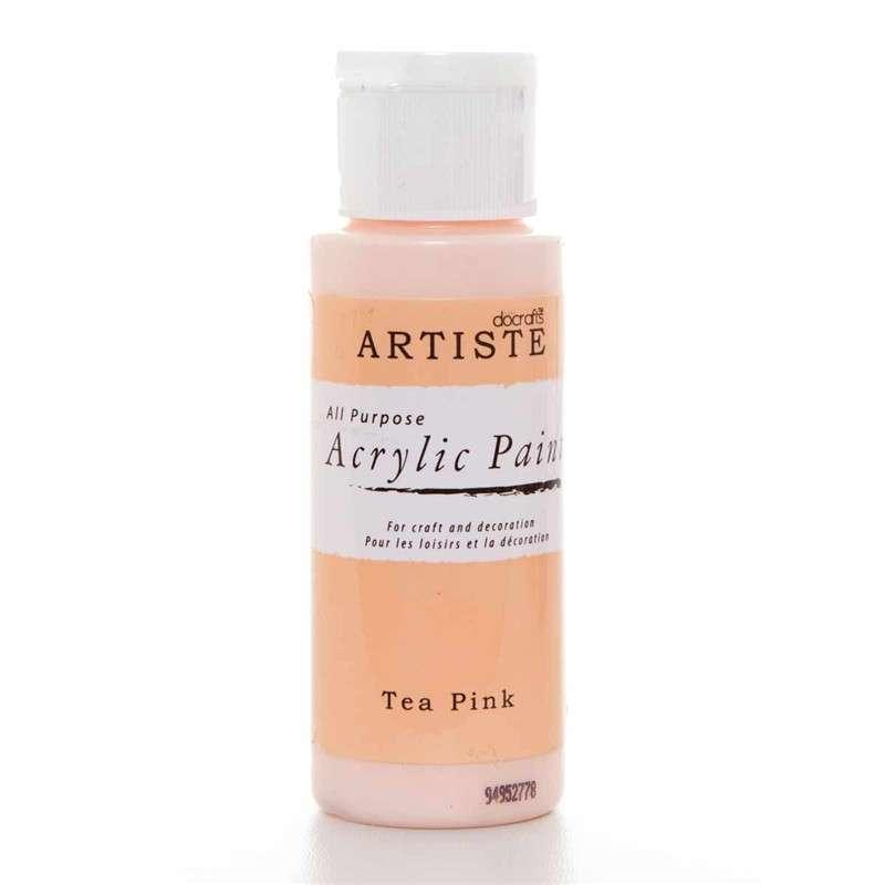 Akrylová barva ARTISTE - růžový čaj