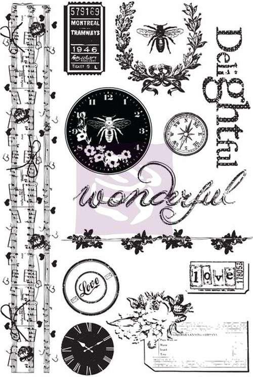 Cling Mount Stamps - Lyric Prima Marketing