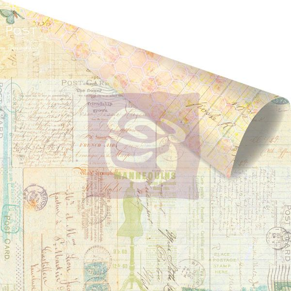 Scrapbooková čtvrtka Divine - Epigram - sb čtvrtka vhodná pro scrapbooking a cardmaking Prima Marketing