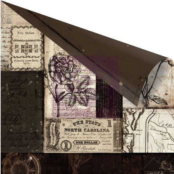 Scrapbooková čtvrtka Engraver - Cesello - sb čtvrtka vhodná pro scrapbooking a cardmaking Prima Marketing