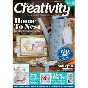 Docrafts Creativity! časopis č.39 + lístky na poznámky