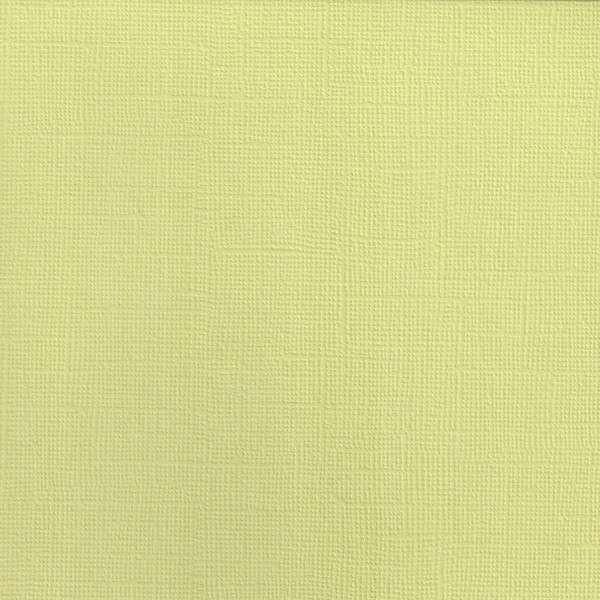 Texturovaná čtvrtka - papír na scrapbooking Basic Bledě zelený Ursus