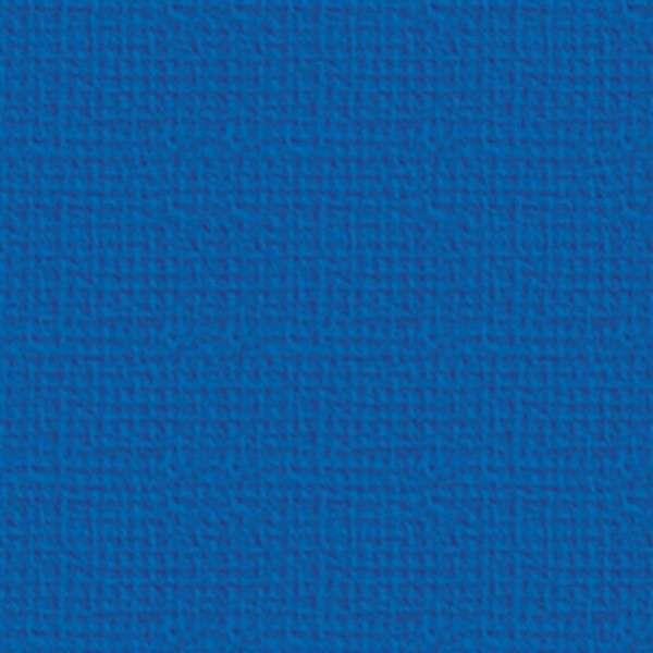 Texturovaná čtvrtka - papír na scrapbooking Basic Královsky modrý Ursus