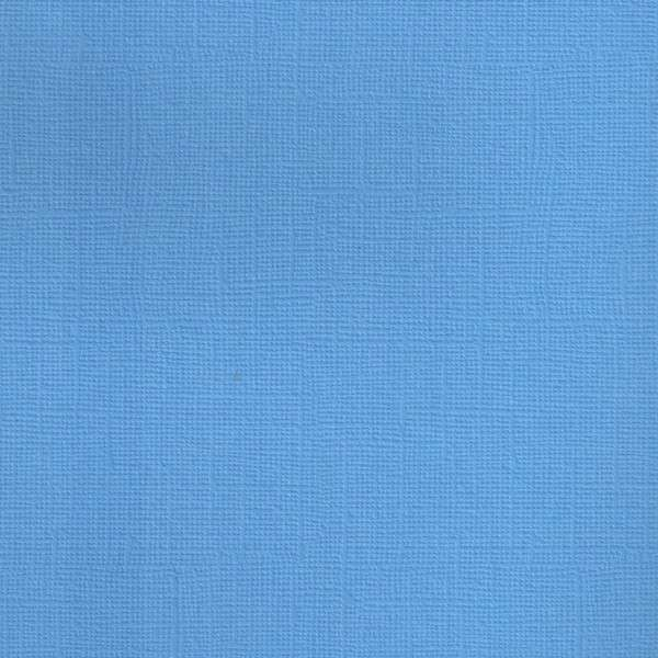 Texturovaná čtvrtka - papír na scrapbooking Basic Tm. modrý Ursus