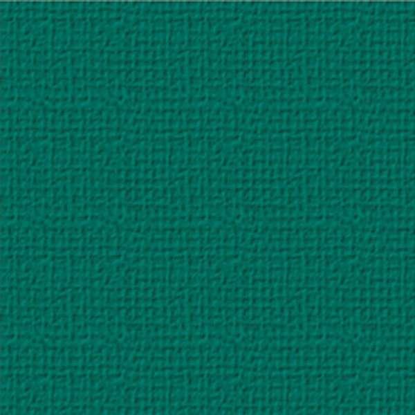 Texturovaná čtvrtka - papír na scrapbooking Basic Tm. zelený Ursus