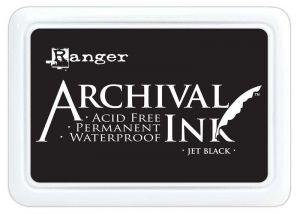 Ranger - Inkoustové polštářky Archival - Jet Black