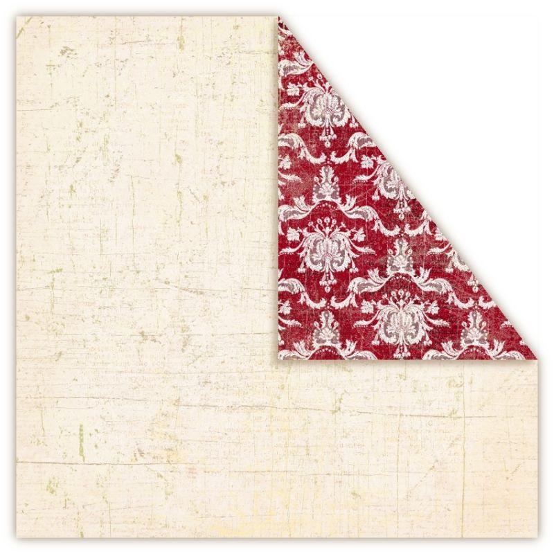 Čtvrtka na scrapbook, oboustranná, z kolekce Holmes in Love - 221B UHK Gallery