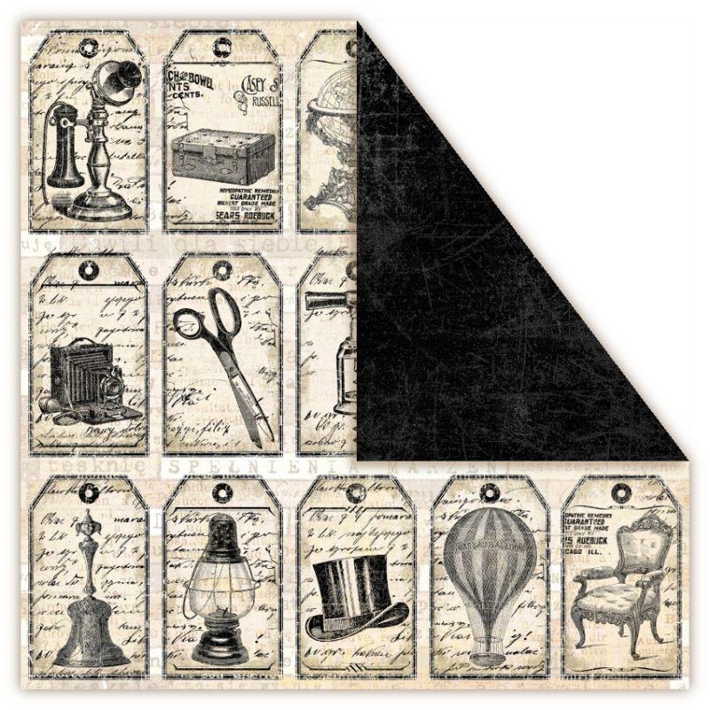 Čtvrtka na scrapbook, oboustranná, z kolekce Holmes in Love - Moriarty UHK Gallery