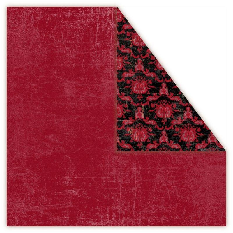 Čtvrtka na scrapbook, oboustranná, z kolekce Holmes in Love - Passion UHK Gallery
