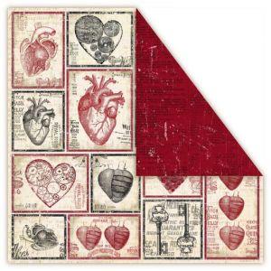Oboustranný papír na scrapbook Holmes in Love - Valentine