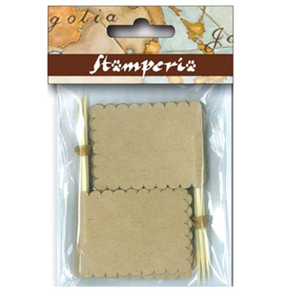 Dekorační papírový praporek (10ks) STAMPERIA