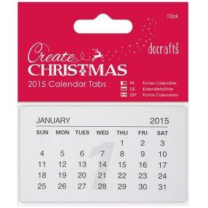 Kalendářové lístečky 2015