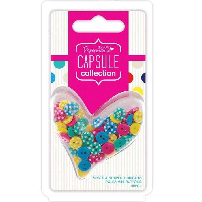 Knoflíky puntíkaté Capsule Summer Bright Design Objectives Capsule