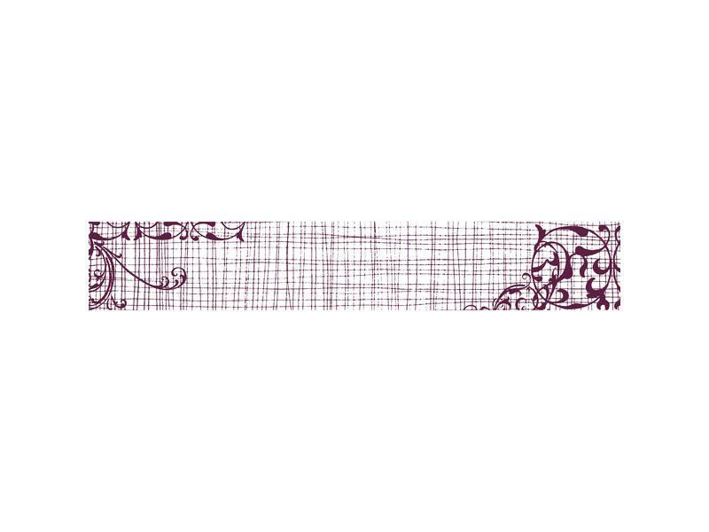 MAXI Stamp od Aladine, razítko na celou scrapbookovou stránku, vleikost 30x5 cm Arabesky