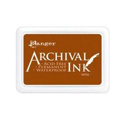 Ranger - Inkoustový polštářek Archival - Sepia