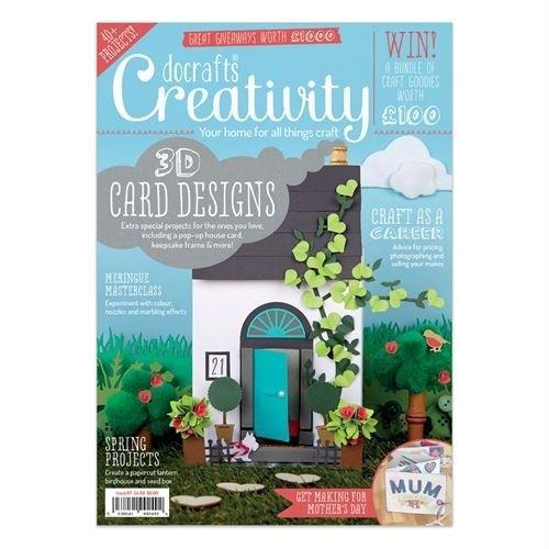 Časopis o scrapbookingu pro scrapařky! Docrafts Creativity! Časopis č.67 Únor 2016 Design Objectives