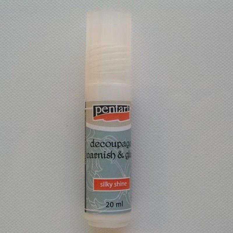 Lepidlo a lak na decoupage 20 ml PENTART