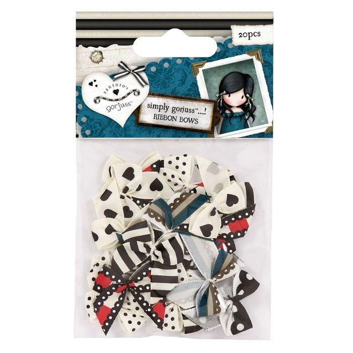 Mašličky Gorjuss na scrapbooking, cardmaking, zdobení na bloky, přání, alba a stránky DOCRAFTS