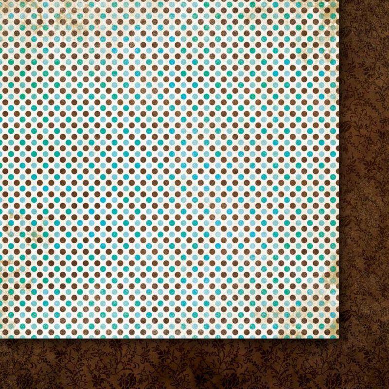 Oboustarnný papír - čtvrtka na scrapbooking A Beautiful Mind 04 Galeria Papieru