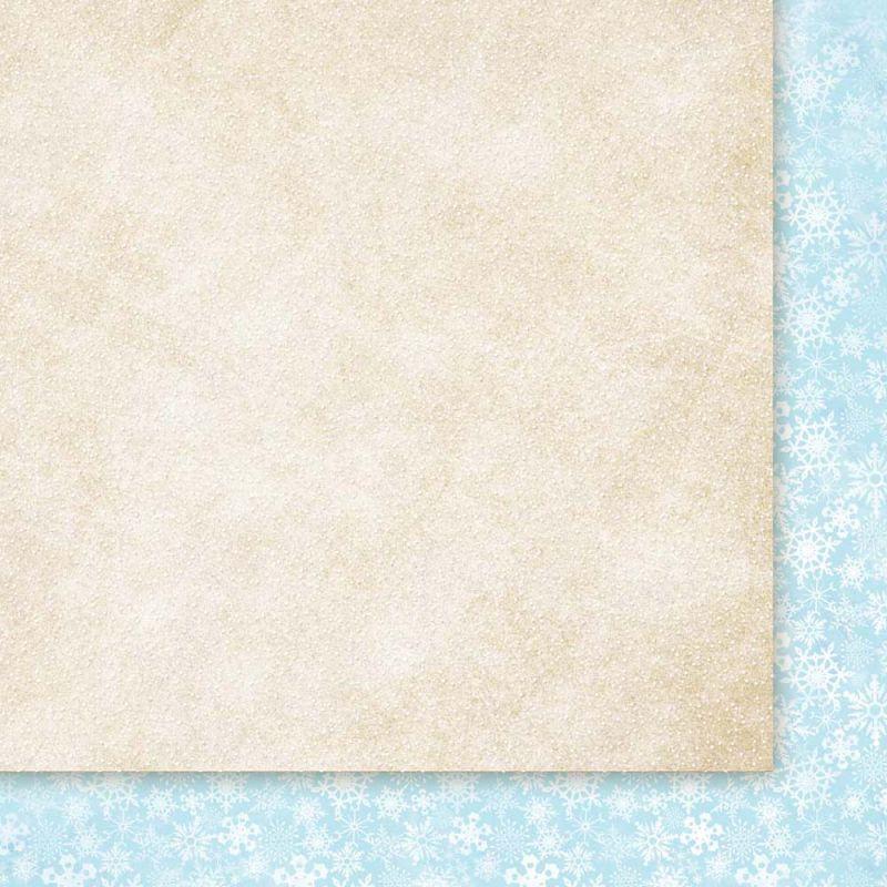 Oboustarnný papír - čtvrtka na scrapbooking Snow Queen 01 Galeria Papieru