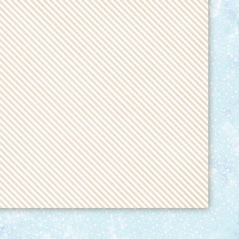 Oboustarnný papír - čtvrtka na scrapbooking Snow Queen 02 Galeria Papieru