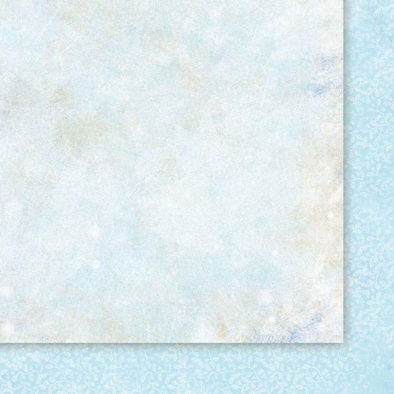 Oboustarnný papír - čtvrtka na scrapbooking Snow Queen 06 Galeria Papieru