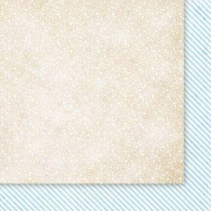 Oboustarnný papír - čtvrtka na scrapbooking Snow Queen 03 Galeria Papieru