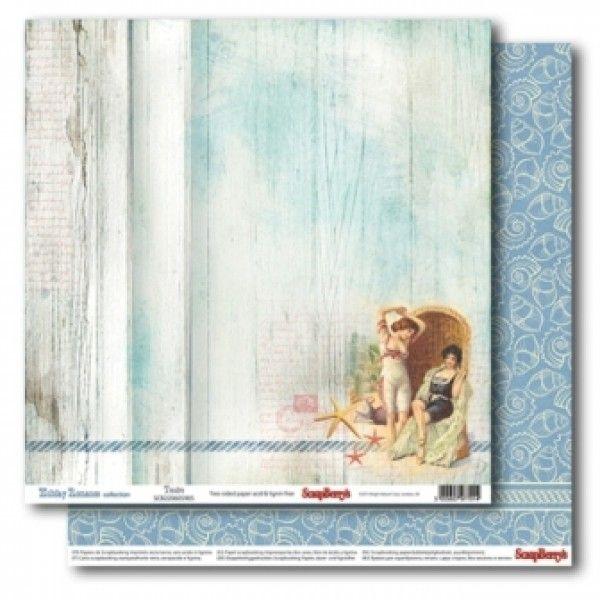 Oboustranný papír na scrapbook ScrapBerry´s Tender vyšší gramáže 190 gsm SCRAPBERRYS