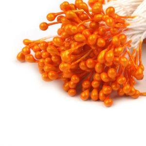 Pestíky do květin - oranžové