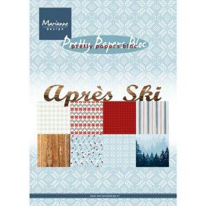 Marianne Design - Apres Ski, A5 - 8 ks