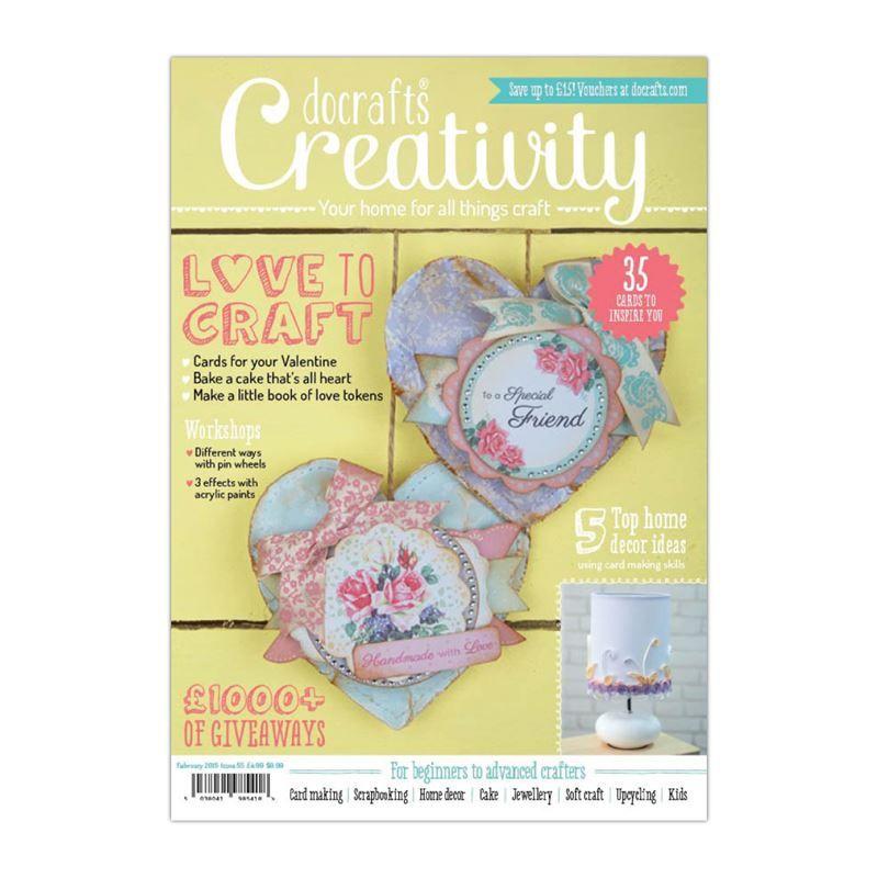 Scrapbookový Časopis Docrafts Creativity! Časopis č.55 2015 Design Objectives