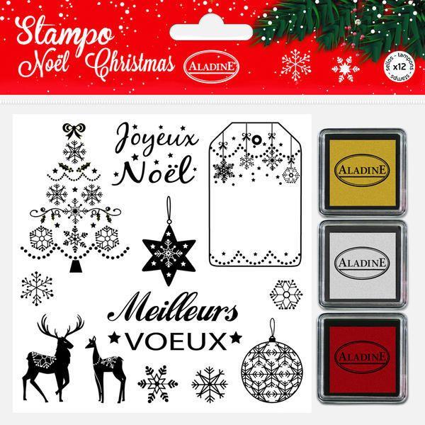 StampoNoël, Francouzské Vánoce Aladine